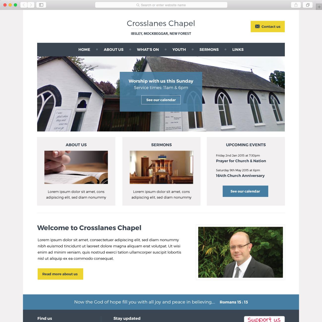 Crosslanes Chapel