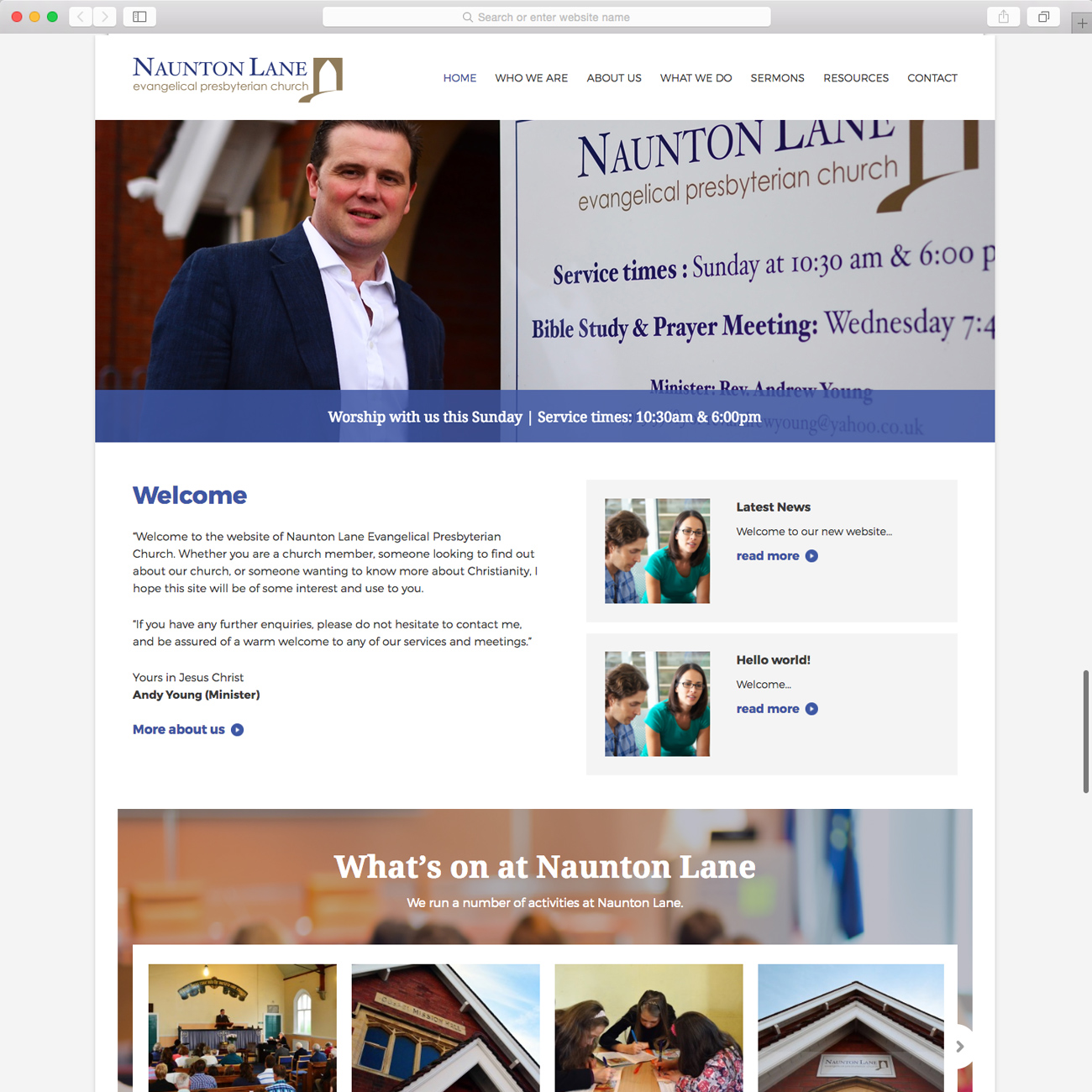 Naunton Lane Evangelical Presbyterian Church