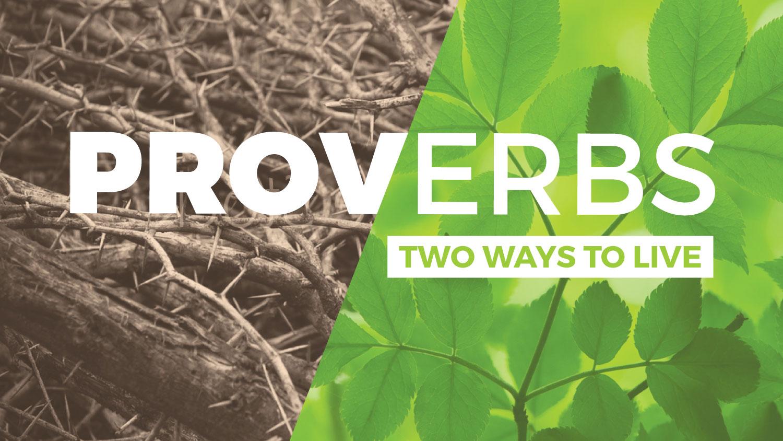 Proverbs Sermon Graphic