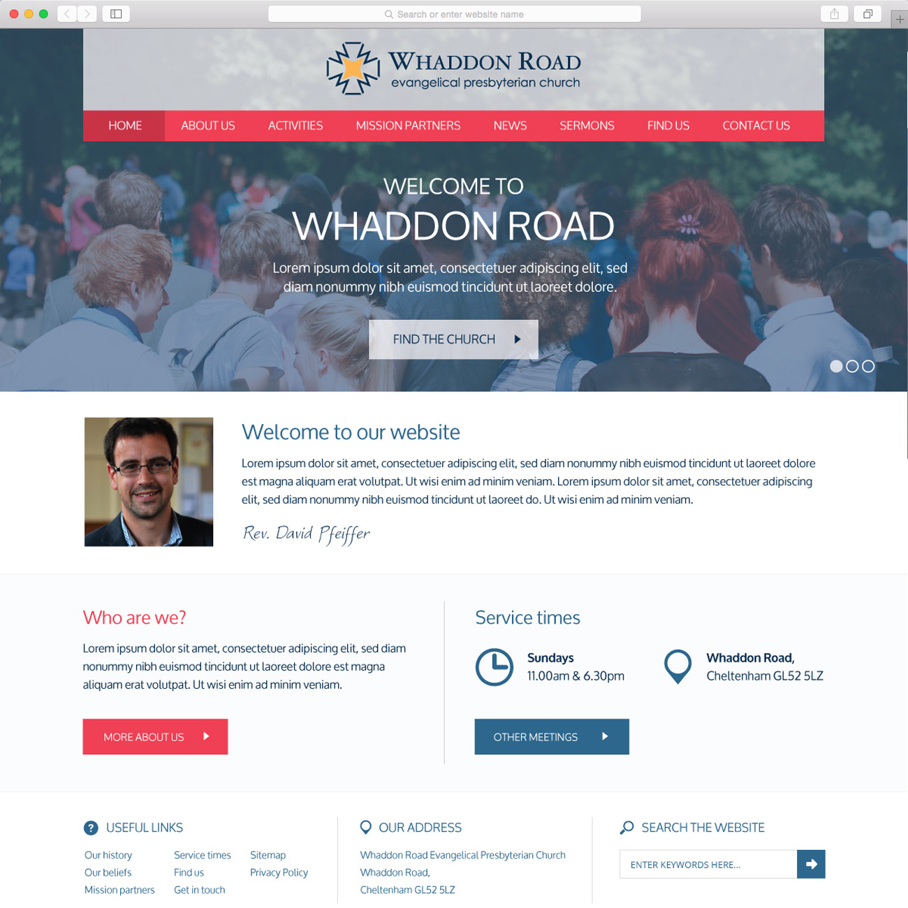 Whaddon Road Evangelical Presbyterian Church